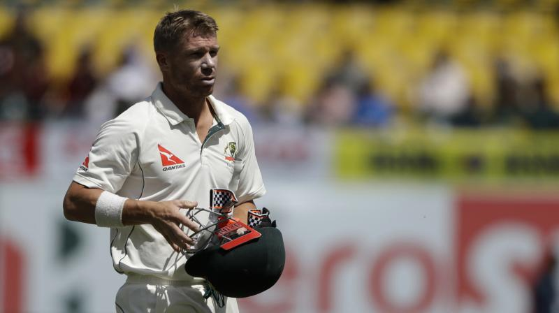 Both Warner and Smith played their first Test match after facing a one-year ban for their involvement in the ball-tampering scandal against South Africa in 2018. (Photo: AP)