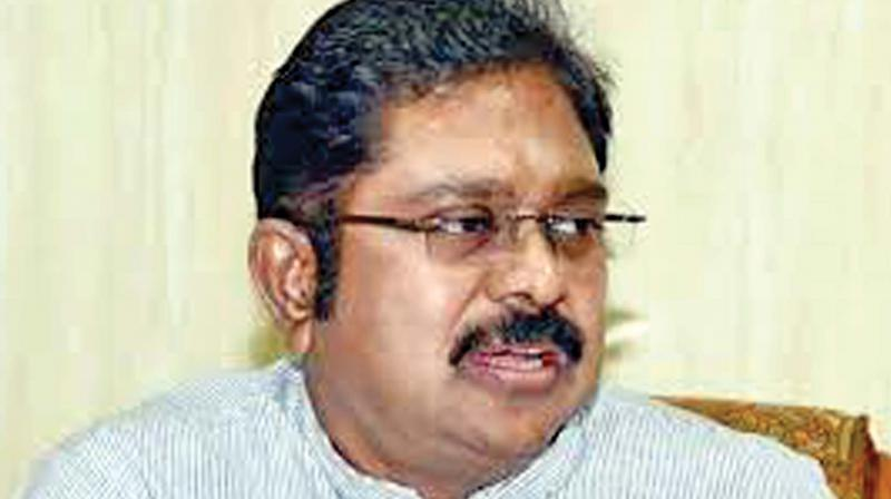 The Election Commission only to consider granting registration to the Dhinakaran faction as a political party and it will be done in due course by the poll panel. (Image: File)