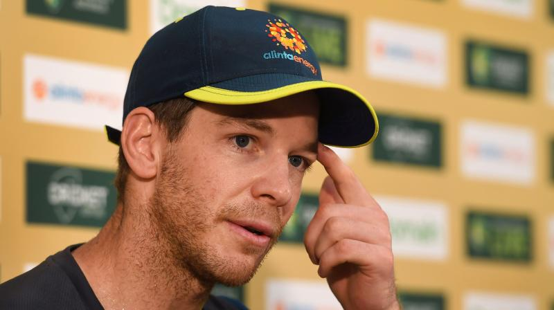 Captain Tim Paine has predicted a 'very exciting era' for Australian cricket after the team retained the Ashes against England, while revealing he broke his thumb in the final Test.  (Photo: AFP)