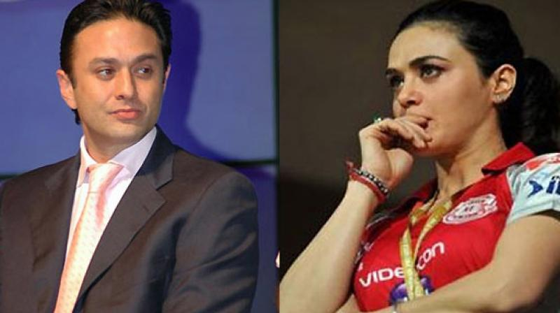 Controversy surrounding Preity Zinta's complaint against Ness Wadia cooled off in the past couple of years.