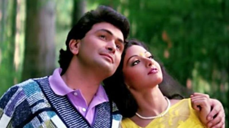 Rishi Kapoor and Sridevi acted together in multiple films.