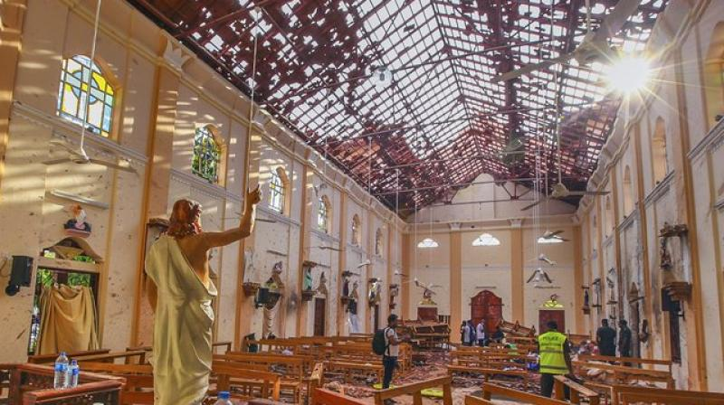 Places of religious importance in Sri Lanka are under strict security check. Churches have been ordered to stay closed until further notice. (Photo: AP)