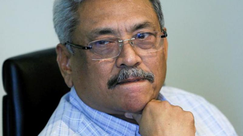 Sri Lanka's former wartime defence secretary Gotabaya Rajapaksa took an early lead Sunday in a fiercely fought presidential election conducted under high security seven months after deadly Islamist attacks. (Photo: File)
