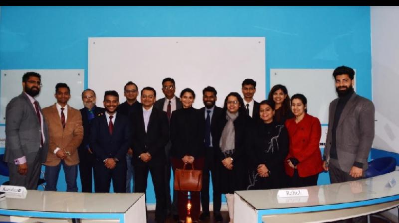 Students Enjoying an Industry Connect Session with Leaders of Luxury Industry