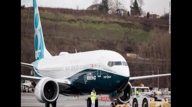 A file photo of Boeing 737 Max 8. (Photo: ANI)