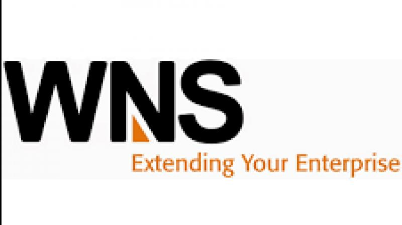 WNS revenue increased by 3.84 per cent to USD 210.5 million, against USD 202.7 million in the year-ago quarter.