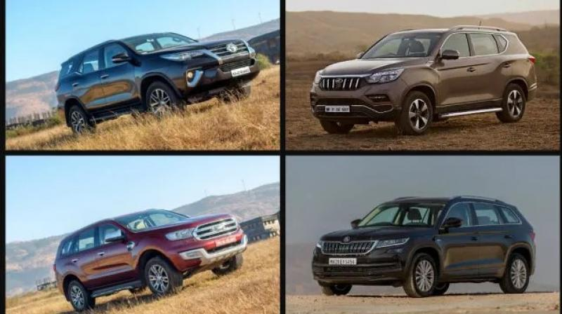Fortuner sold nearly 500 units lesser than it did in March 2019.  Endeavour also slipped, still sold nearly three times less as top-selling Toyota.  Tiguan was the biggest loser with a 98 per cent decline in month-on-month growth