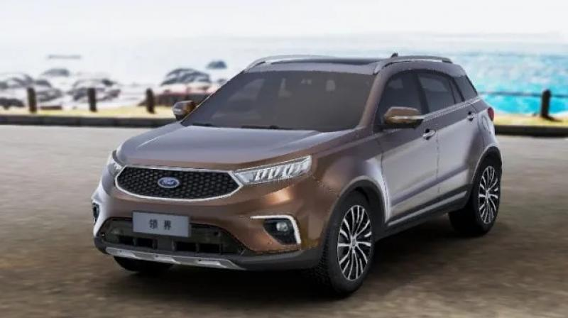 BX744 being developed specially for India. It is being developed by Ford alone.