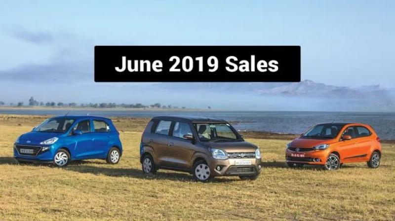 WagonR saw a dip in sales compared to the previous month.  Tiago's sales have substantially gone up compared to last month.