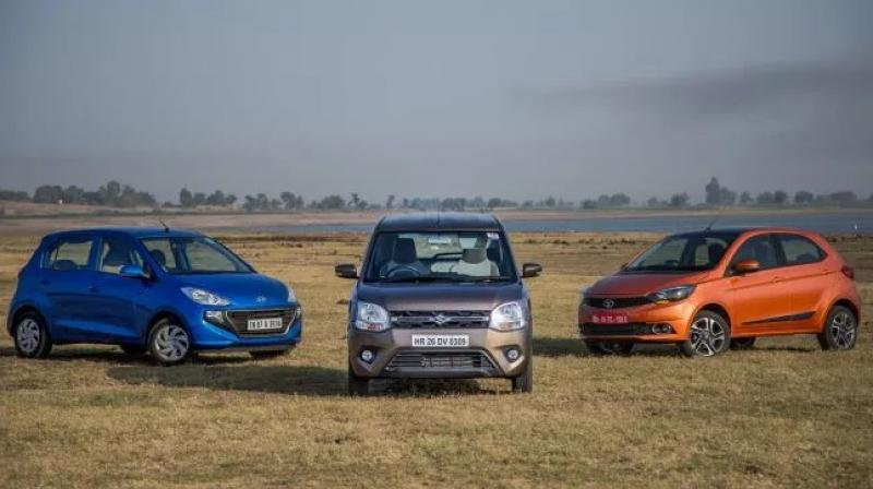 Maruti Suzuki WagonR and Hyundai Santro's tested highway efficiency gets close to their claimed figure, however, the claimed figure for the Tata Tiago is a little off from the highway figure.