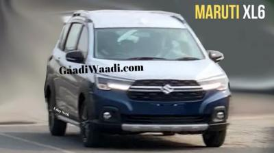 The Maruti Suzuki XL6 gets a completely revised front-end design.