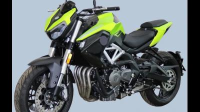 This is the second time this month that we're seeing spy shots of the all-new Benelli TNT 600i.
