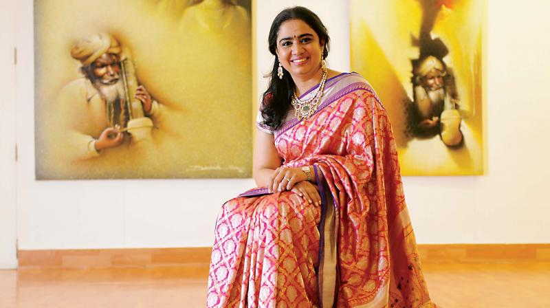 Gitanjali Maini, Managing Trustee, The Raja Ravi Varma Heritage Foundation