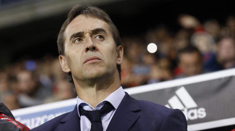 Spain are unbeaten in all of Lopetegui's 20 games in charge as Spain boss. (Photo: AP)