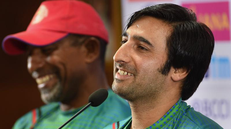 Afghanistan, who have been forced to train in India since 2015 because of the conflict at home, have just secured a T20 series sweep over Bangladesh with teen sensation Rashid Khan now an international star. (Photo: PTI)