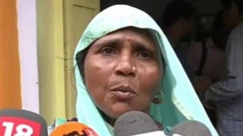 Talking to the media, the girl's mother Sushma also alleged that she was made to wander for over three hours at the hospital before the girl died. (Photo: ANI)