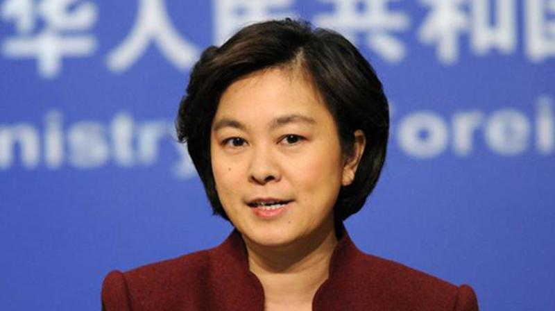 Hua Chunying called on Washington to abide by the One-China policy and 'cease Taiwan arm sales' in order to preserve Sino-US relations. (Photo: AP)