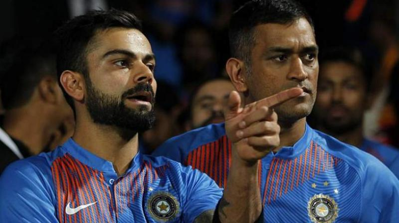 Virat Kohli and MS Dhoni gave the idea of Grade A+, a separate level for player contracts. (Photo: BCCI)