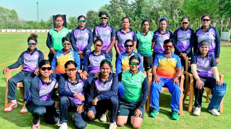 The victorious South Central Railway team pose after winning the All India Railway Cricket Championship played at Kapurthala in Punjab.