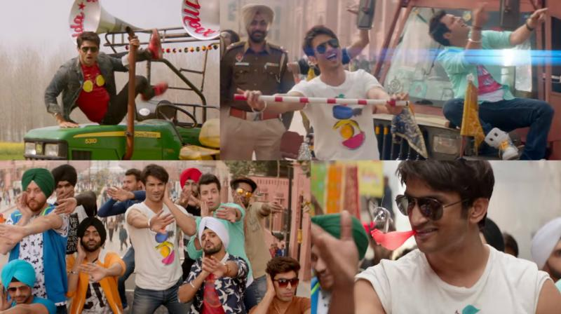 Screengrabs from the song.