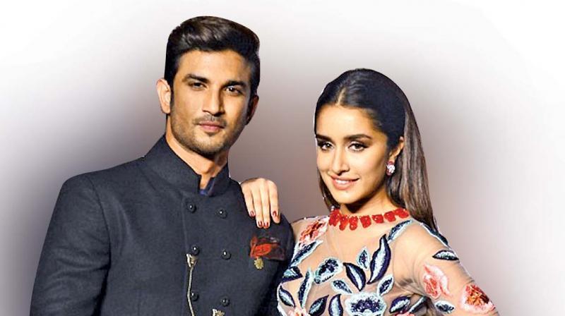 Sushant Singh and Shraddha Kapoor.
