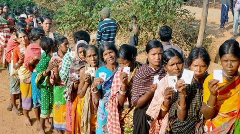 The first phase of UP polls in 73 assembly seats in UP witnessed 64.22 per cent turnout on February 11. (Photo: PTI)