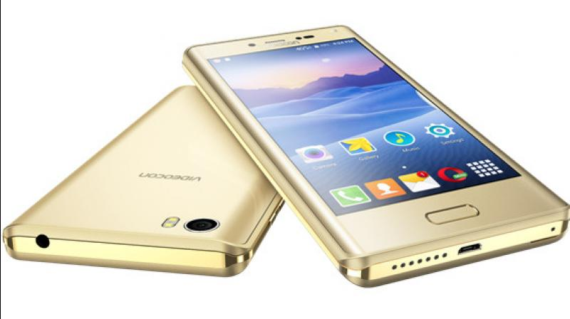 The smartphone features a 5-inch HD IPS display and sports a 13MP rear camera.