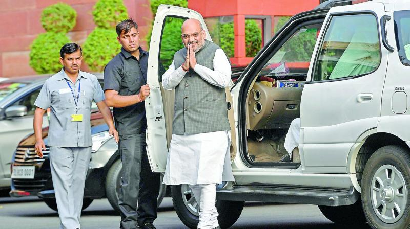 The BJP and Shah, in particular, had also been campaigning for National Register of Citizens throughout the country. (Photo: AFP)