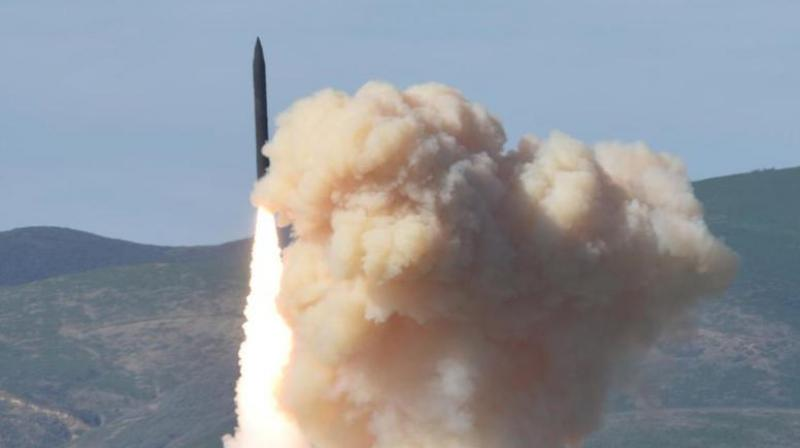 The interceptor test, scheduled for Tuesday, comes after a series of successful North Korean ballistic missile launches the recent being on May 21. (Photo: AP/Representational)