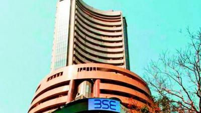 The BSE Sensex was down 86.88 points at 38736.23, while the Nifty50 fell 35.20 points to 11547.70.