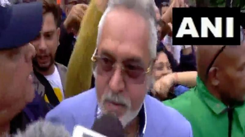On April 8, a UK court had denied permission to the fugitive businessman to appeal against his extradition order to India to face trial for alleged fraud and money laundering amounting to Rs 9,000 crore. (Photo: ANI)