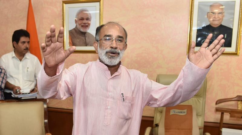 Tourism Minister KJ Alphons is a 1979 batch IAS officer from Kerala cadre. (Photo: PTI)