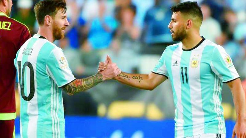 In Brazil this year, Messi, Sergio Aguero and Angel Di Maria will be the only players remaining from the group that lost to Germany. (Photo: AFP)