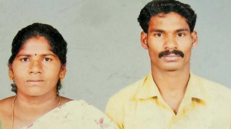 Bhavani and Rajkumar. (Left) Sampath. (Photo: DC)