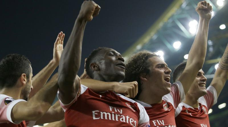 Emery's Arsenal have struggled on the road since the start of the calendar year and have won just three of their last nine away games in all competitions. (Photo: AP)