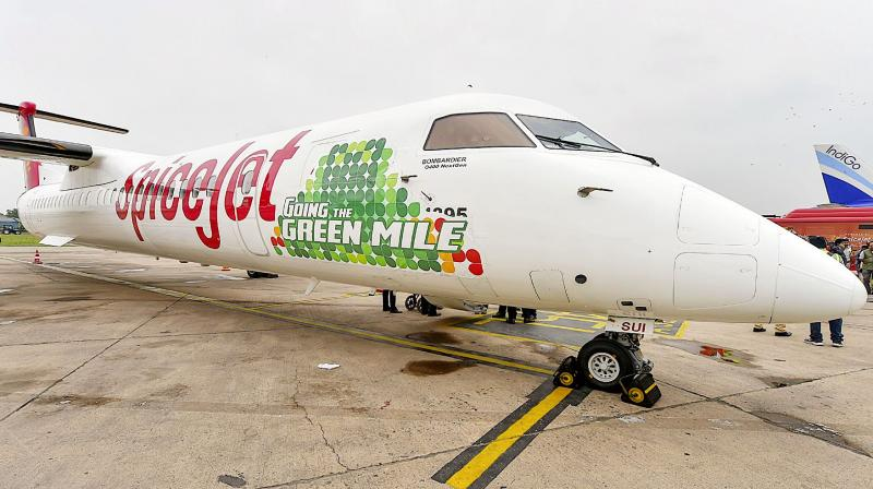 India's first biofuel powered flight launched by the CSIR from Dehradun to Delhi on August 27. (Photo: File Photo)