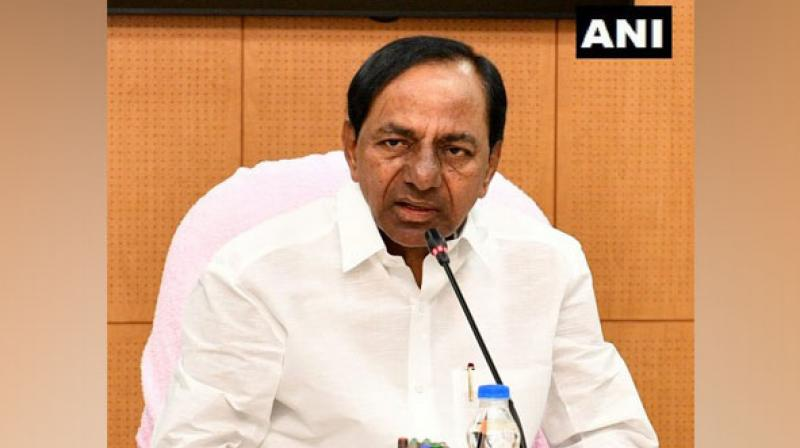 There is a total of six berths that are lying vacant in Rao's council of ministers, which could be filled after Telangana Rashtra Samiti state executive meeting on June 19. (Photo: ANI)