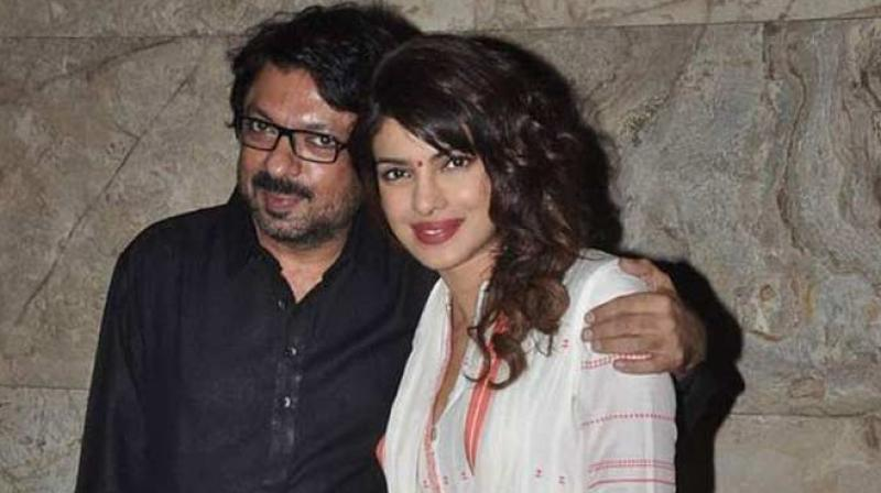 """""""Priyanka will meet Bhansali again at his office next week and is expected to sign on the dotted line only in February. The duo has been discussing scripts for the last one year. They're very fond of each other,"""" a source reportedly told a leading newspaper.."""