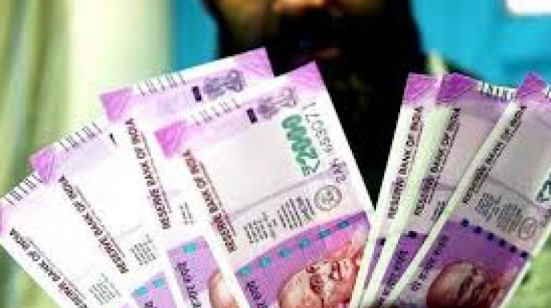 A stable crude oil prices, however, restricted the rupee fall to some extent, forex traders said.