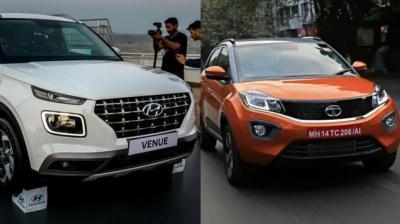 Hyundai Venue vs Tata Nexon.