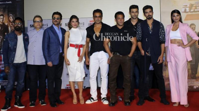 The cast and crew of 'Race 3'.