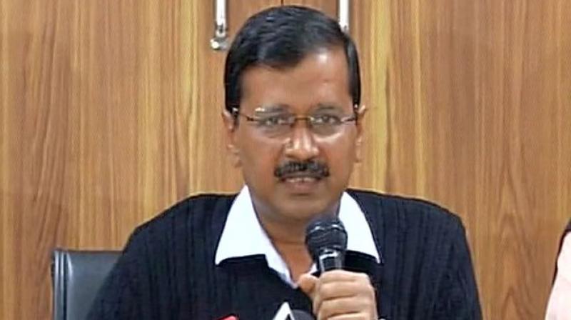 Delhi chief minister Arvind Kejriwal  (Photo: ANI)
