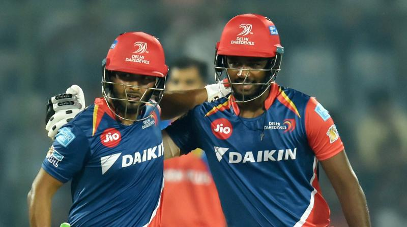 Rishabh Pant-Sanju Samson partnership, the highlight in DD's epic vs GL in 2017 || Image Source: BCCI