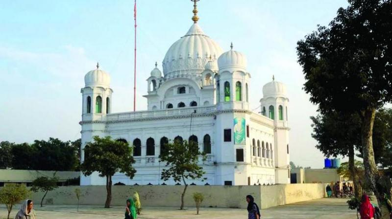 The Kartarpur Corridor links Gurudwara Darbar Sahib in Pakistan's Narowal with Dera Baba Nanak shrine in Gurdaspur district in Punjab. (Photo: File)