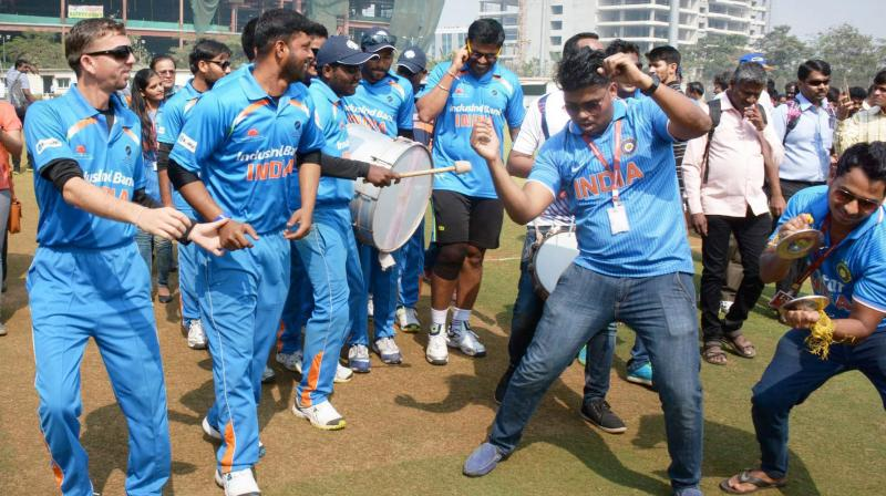 blind cricket world t20 indian blind cricket team beat sa by 9 wickets