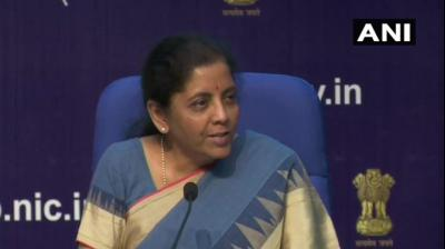 It is being done to encourage investment in the capital market, the finance minister Nirmala Sitharaman said on Friday. (Photo: ANI)