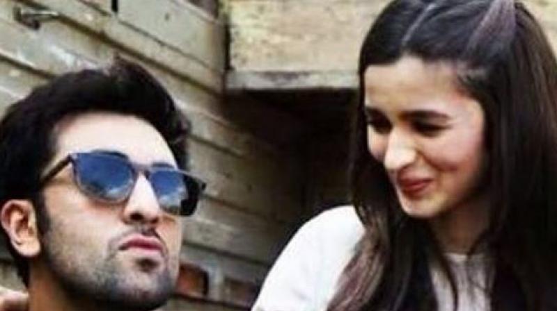 Ranbir Kapoor and Alia Bhatt. ( Source: Instagram/ ranbiralia_fp)