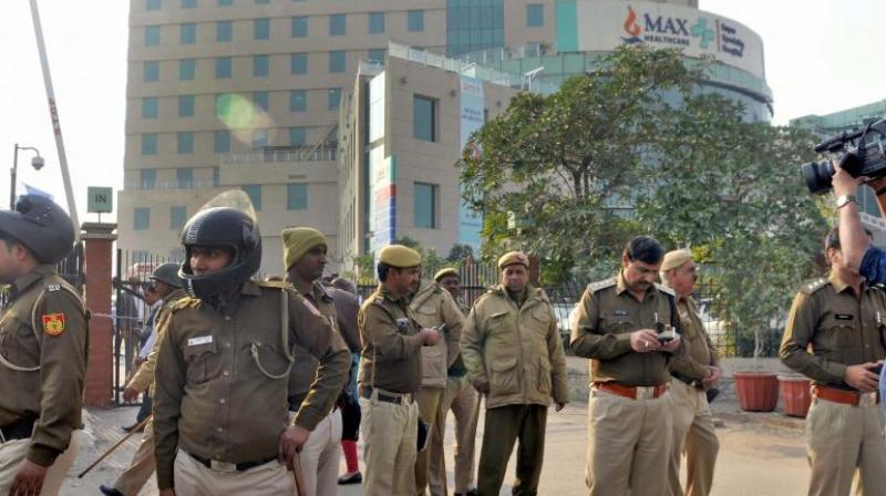 The decision was taken on Sunday night after a meeting of the Max Healtcare authorities in connection with the incident. (Photo: PTI)