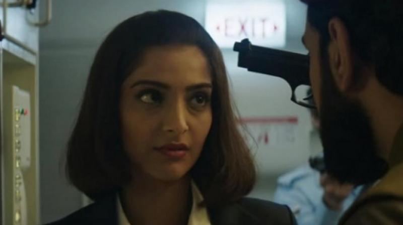 A still from the film 'Neerja.'