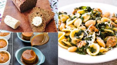 From pasta to whiskey butter or rich spongy date cakes, here are dishes that will leave you wanting more. (Photos: AP)